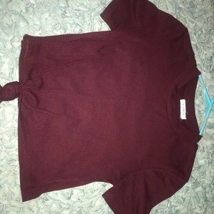croped tshirt