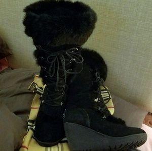 Tall BearPaw Boots