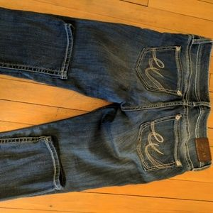 Express light color jeans