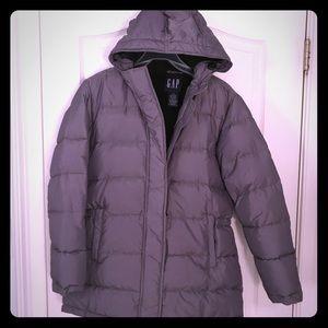 GAP heavy down jacket - size medium