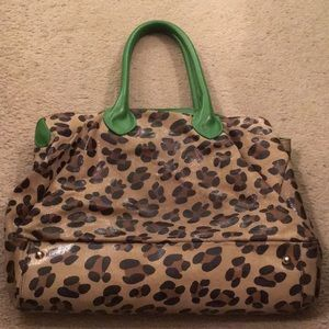 Mauricio Taiuti Leopard Print Bag