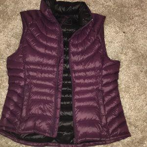 Purple vest. NWOT