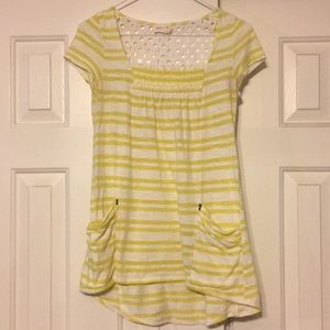 Anthropologie size XS meadow Rue striped shirt