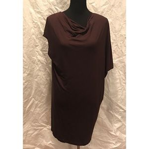 Vince wool blend oxblood Tunic dress