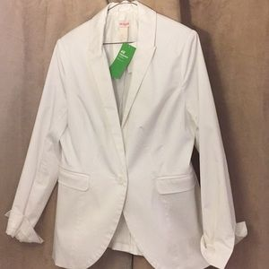 Brand NEW Women's White Blazer- 44/XL