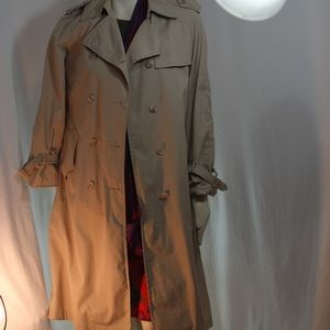 Clipper Mist Vintage Trench Coat