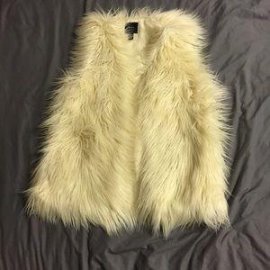 Fluffy Vest
