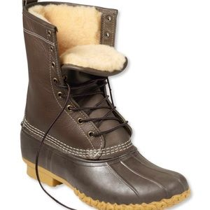 Women's Bean Boots by L.L.Bean Shearling-Lined