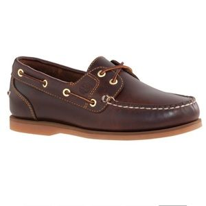 TImberland CLASSIC AMHERST 2-EYE BOAT SHOES 8.5M