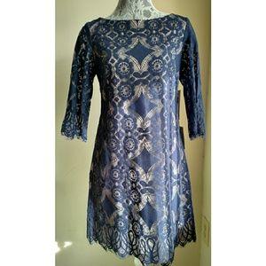 Eliza J Lace A-line Dress - Size 6 - NWT