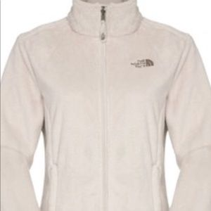 NorthFace vintage white fleece