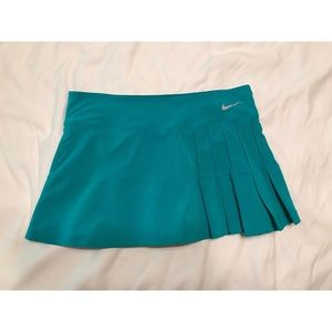 Nike || Turquoise tennis&golf skirt with bloomers