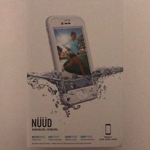 Brand new lifeproof Nuid case for iPhone 7