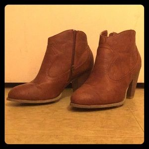 Brown Ankle Boots US Size 9