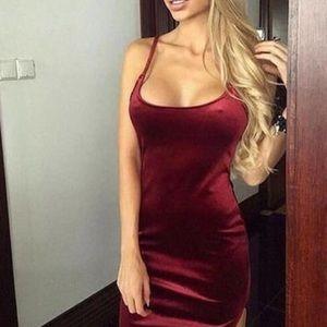 Velvet Mini Dress