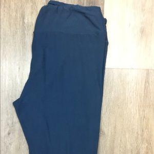 LuLaRoe TC blue leggings