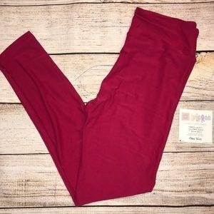 NWT LuLaRoe leggings - solid magenta