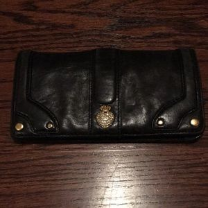 Juicy Couture soft leather wallet