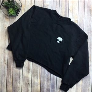 Brandy Melville Crop sweatshirt