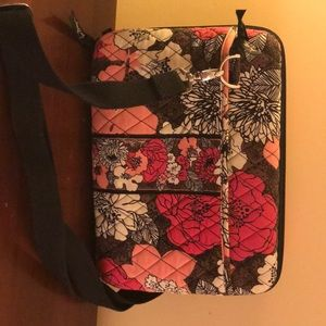 Vera Bradley mini laptop/ tablet case