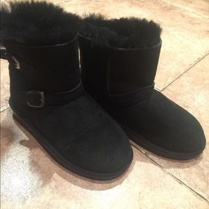 Black boots size 13