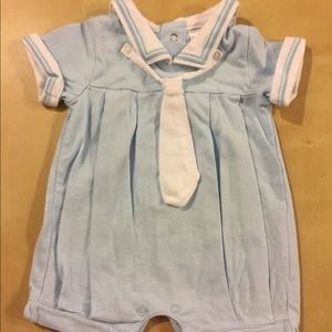 French designer baby marine outfit