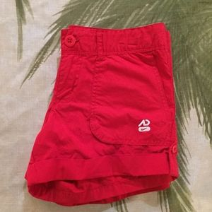 NWT Nike Red Athletic Department Shorts Sz 6