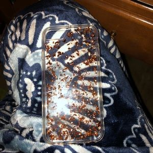 iPhone 6/6s/7/8 Rose Gold Chip Case