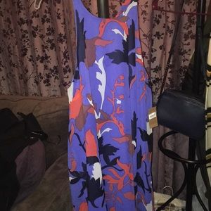 Rachel Roy multi colored floral dress never worn