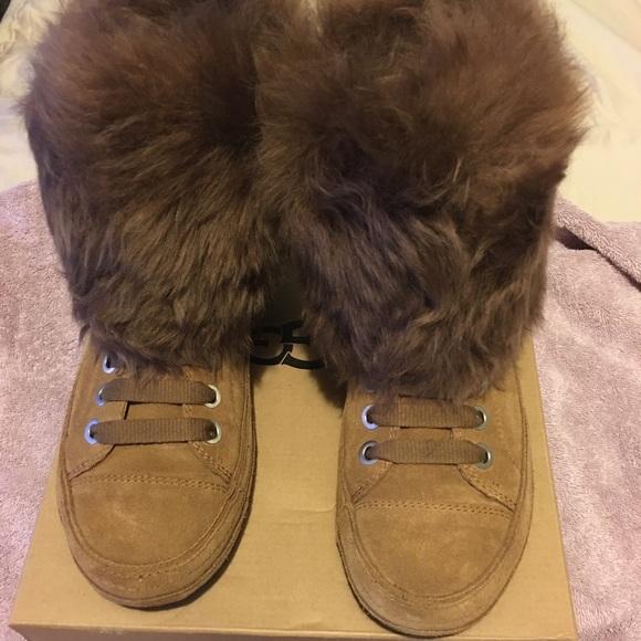 f1cf1663772 Ugg sneaker Antoine Fur.