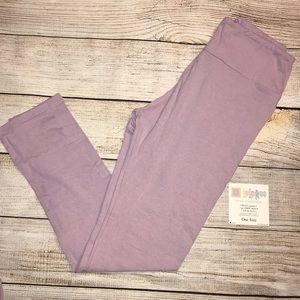 NWT LuLaRoe leggings- heathered lavender/purple
