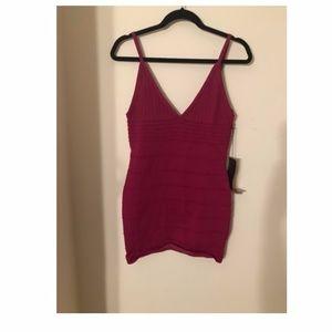 New Pink Bodicon Dress