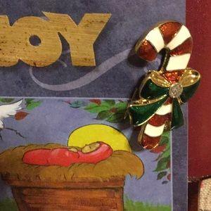 Vintage Christmas brooch