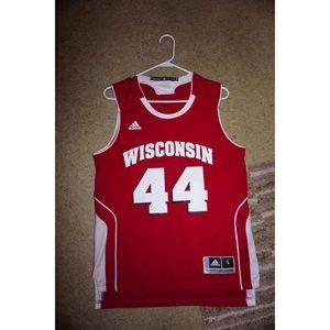 Wisconsin Men's Basketball Jersey #44