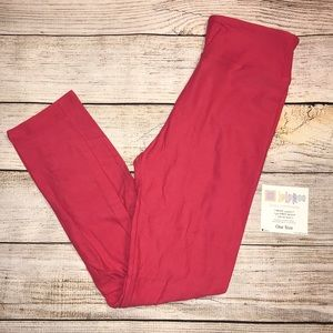 NWT LuLaRoe leggings- pink