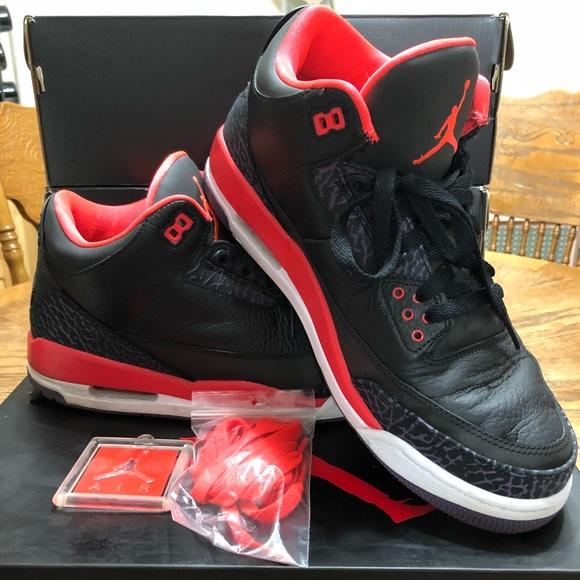 "943c142926999 Jordan Other - Air Jordan III Retro ""Bright Crimson"""