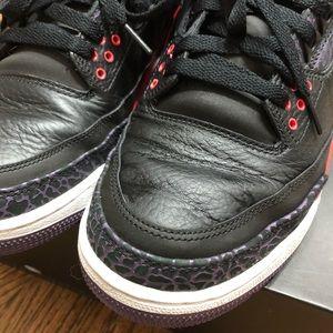 "Jordan Shoes - Air Jordan III Retro ""Bright Crimson"", Size 11"