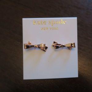 Kate Spade Rose Gold Earrings never worn