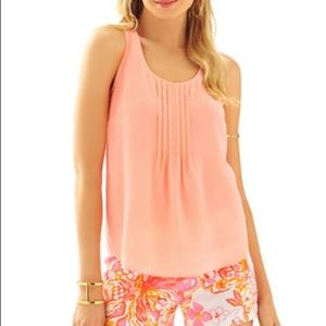 Lilly Dahlia Top in Peachy Pink NWT