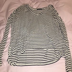 Brandy Melville Striped Long Sleeve One Size