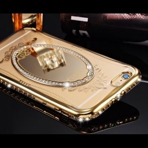 Crystal Mirror Cell phone case.