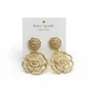 COMING SOON Kate Spade Crystal Rose Drop Earrings