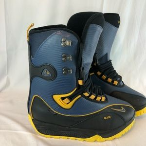 Nike Snowboard Boots Size 12 Blue 865014 471