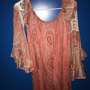 Women's Large multi-colored VOOM Dress