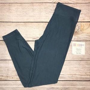 NWT LuLaRoe leggings- Aegean blue