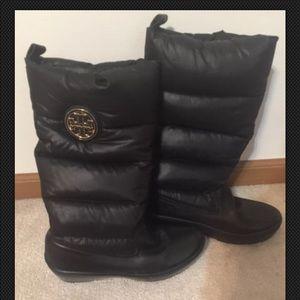 Tori Burch Puffer Boots
