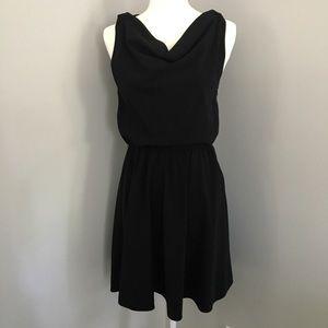 Alice + Olivia Employed Black Dress