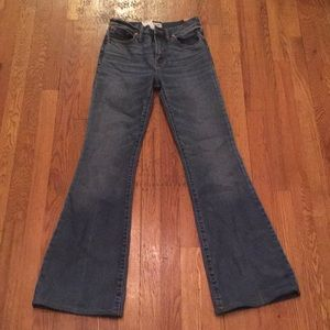 NWT Madewell Bellbottom Jeans