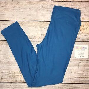 NWT LuLaRoe leggings- cobalt blue