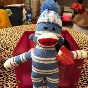 Other - Sock monkey stocking stuffer NWT